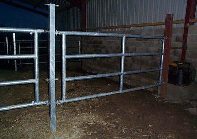 Barrière ovins 4 tubes